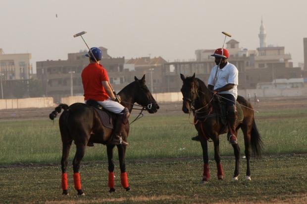 Bushra al Mahdi and Piers