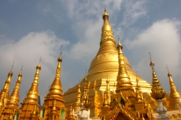 The Golden Swedagon Pagoda