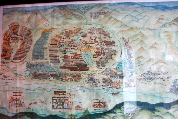 A map of Ulaan Baatar from 1913