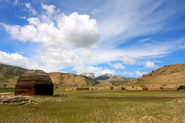 Kazakh tombs in the Molgoit Valley