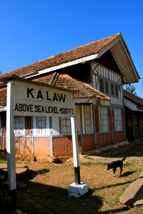 Kalaw train station