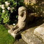 A sphinx at Hinton Ampner