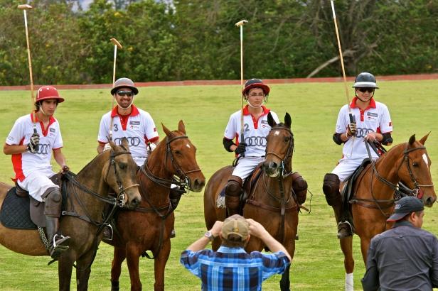 The winning team - 'Rio Blanco'